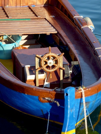 Wood Boat Close up Stock Photo - 10838854