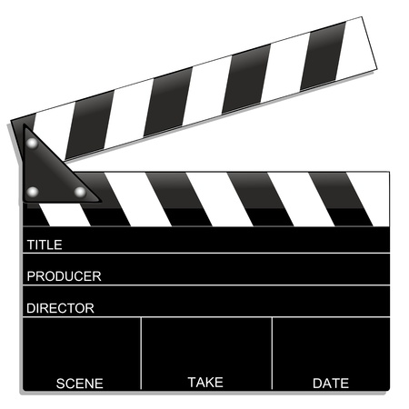 action movie: Clapboard-Film-Movie