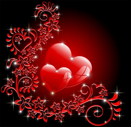 womans day: Love Ornamental Card