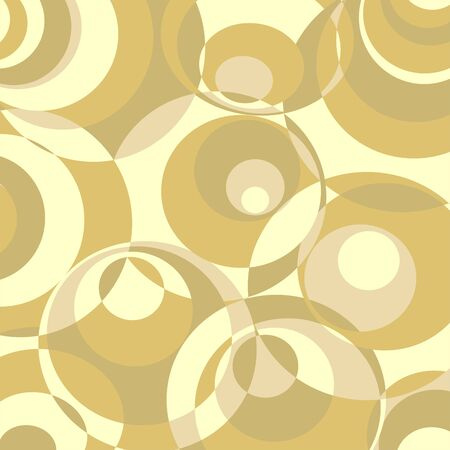 Abstract Circles Design Background Vector