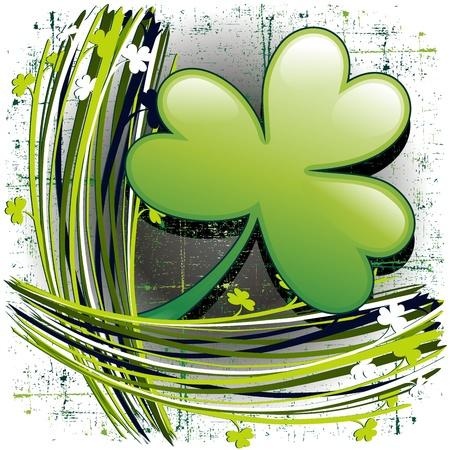 St Patrick s Day Shamrock Clover Vector