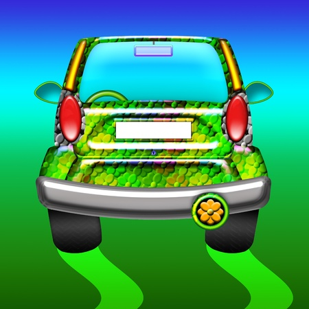 Green Ecological Car photo