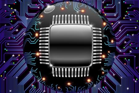 Circuit �lectronique m�re