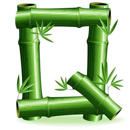 letter q: Bamboo Logo Letter Sign Q