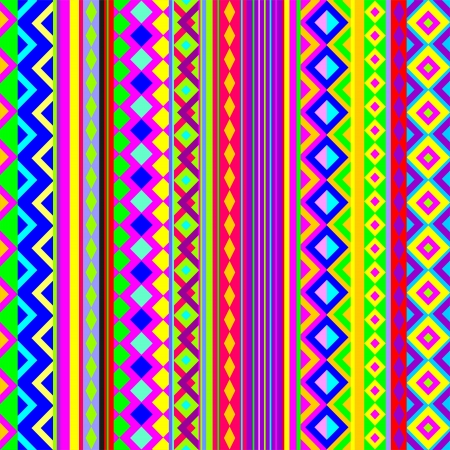 Ethnic Psychedelic Pattern Texture Stock Vector - 16842771