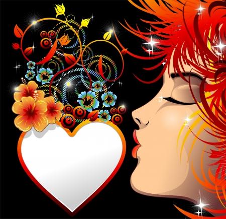 retratos: Seja meu Valentim Amor Beijo Cora��o