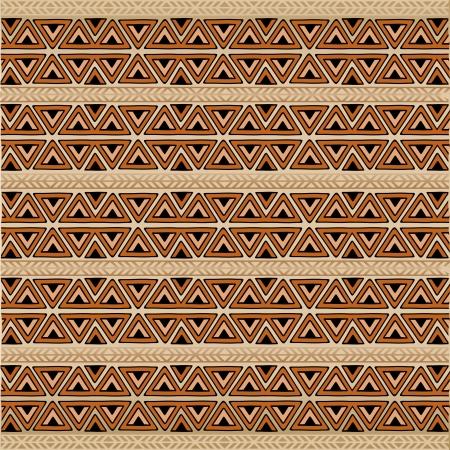 Africa Ethnic Art Pattern Texture Background Illustration