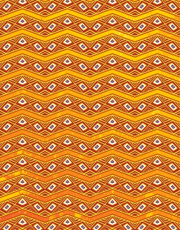 Ethnic Tribal Africa Texture Design Pattern Background Stock Vector - 19872113