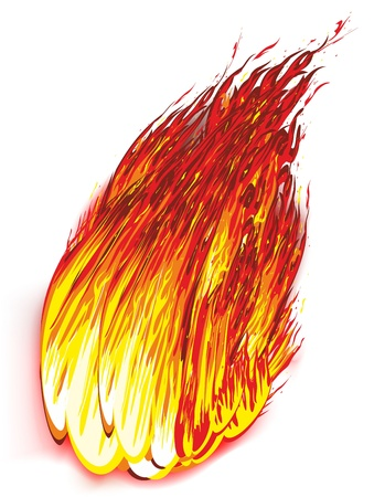 inflame: Fire and Flames Illustration