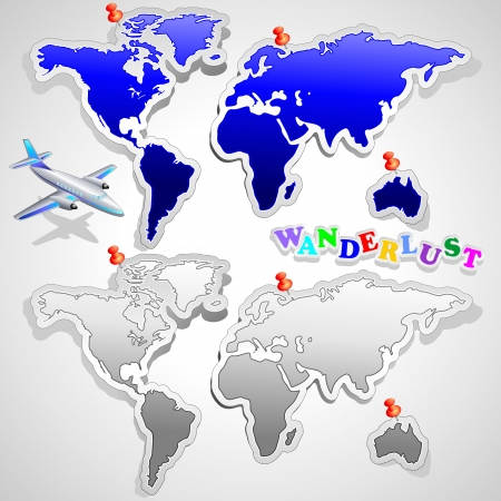 wanderlust: Air Plane Travel around the World