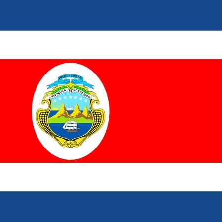 costa rica flag: Costa Rica Official Flag