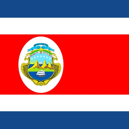 Costa Rica Official Flag