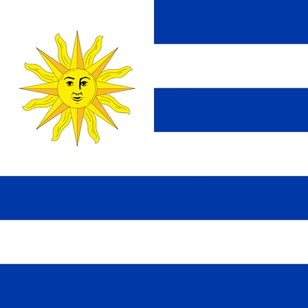 uruguay: Uruguay Flag