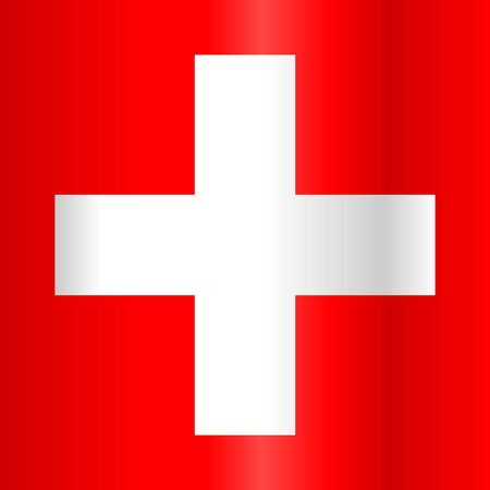 swiss flag: Switzerland Swiss Flag