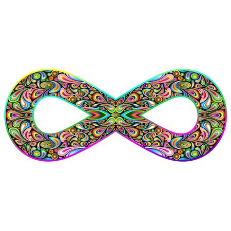 innumerable: Infinity Psychedelic Symbol