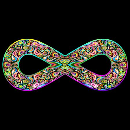 abstract symbolism: infinity symbol, infinity, sign, mathematics, physics, unicode symbol, symbolism, abstract, conceptual, philosophical concept, psychedelic art, graphic art, graphic design, infinite, endless, unlimited, countless, innumerable, immeasurably