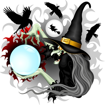 Witch Epiphany and Crows