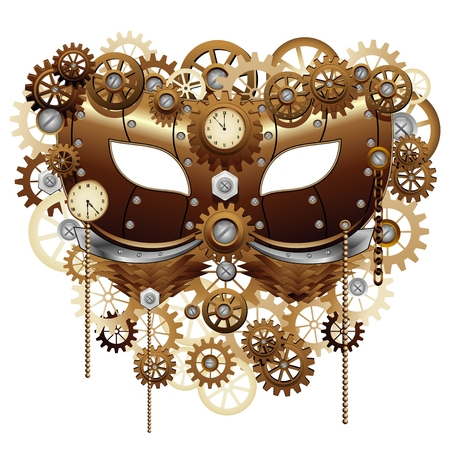 beauty mask: Steampunk Carnival Party Mask