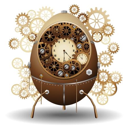 Steampunk Easter Egg