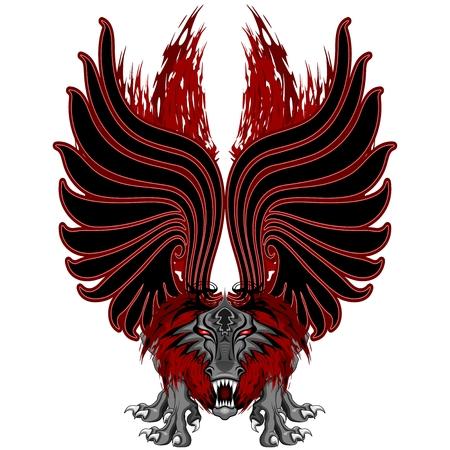 Dragon Gargoyle Tattoo Style
