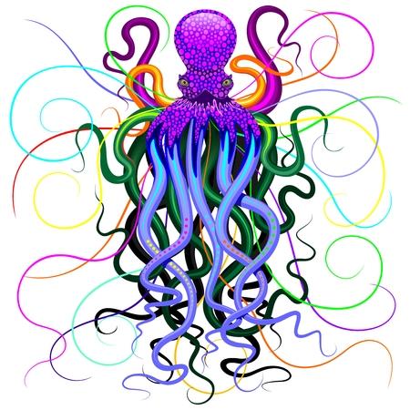 Octopus Psychedelic