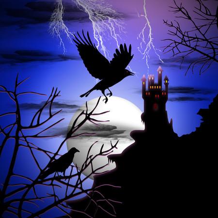 Ravens Haunted Castle