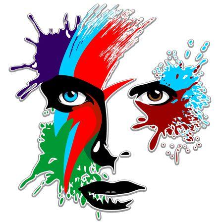 Bowie Oczy