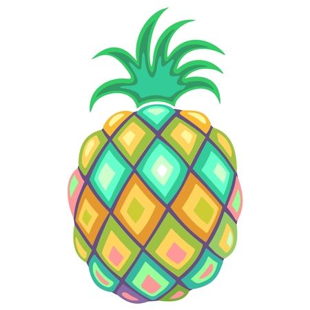 artsy: Pineapple Pastel Colors
