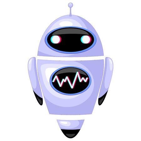 Robot Humanoid Cartoon Character