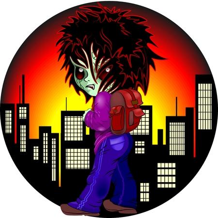 Evil Kid Zombie on Night City