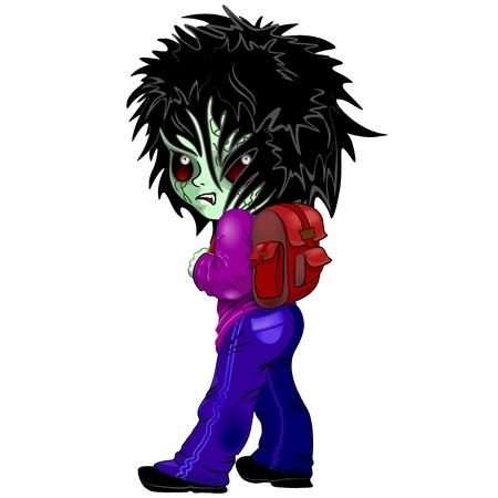Evil Kid Zombie Monster