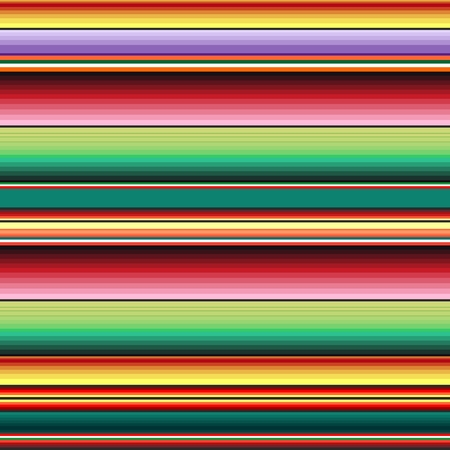 Mexican Fabric Texture Colors Textile Background Vector