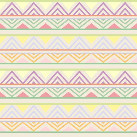Abstract African Seamless Textile Pattern Design