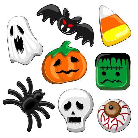 Halloween Candies Set of 8