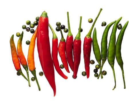 chiles picantes: aj�, chile, especias,