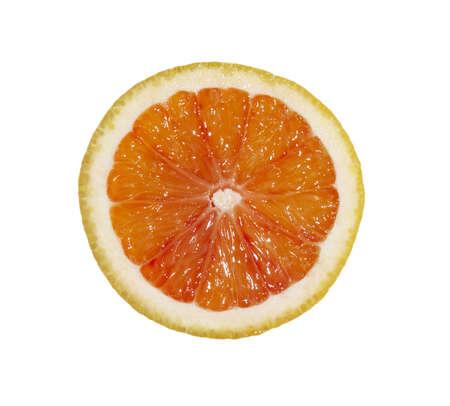 lemony: slice of grapefruit, blood orange