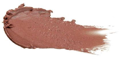 Makeup. Brown foundation