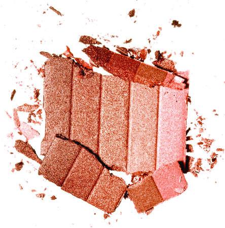 bronceador de alta resolución color de rosa sobre fondo blanco
