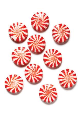 menta dulces de alta resoluci�n en el fondo blanco Foto de archivo