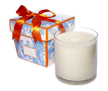 scented candle: candle