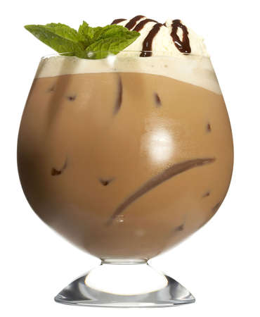 Caf� Chocolate Frappe