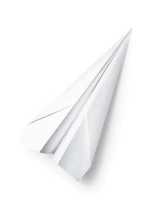 paper airplane Stock Photo - 5545760