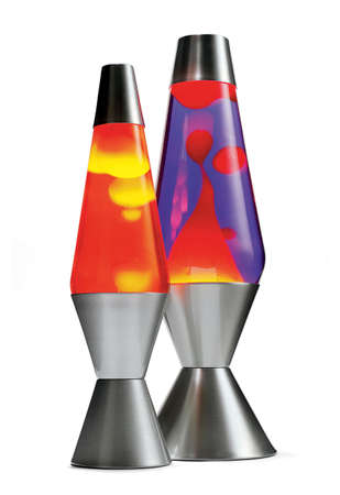 retro decor, lava lamps photo