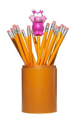 pencils in a holder photo