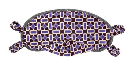 purple eye mask photo