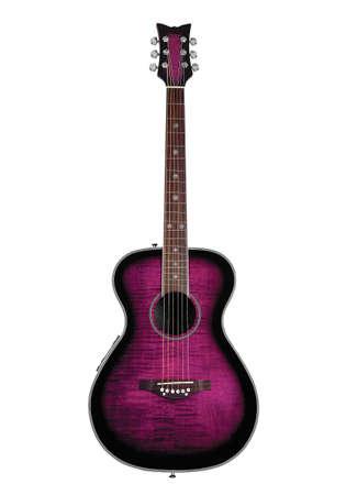 Guitarra p�rpura