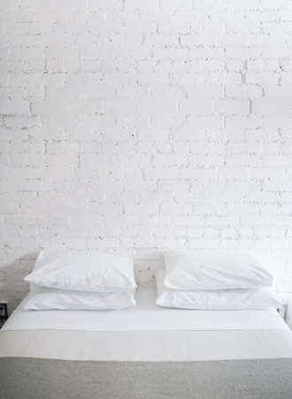 style sheet: Pillows on bed Stock Photo