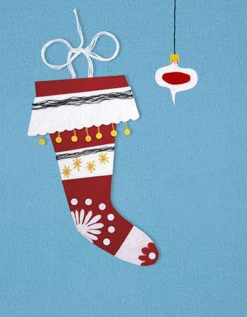 felt stocking photo