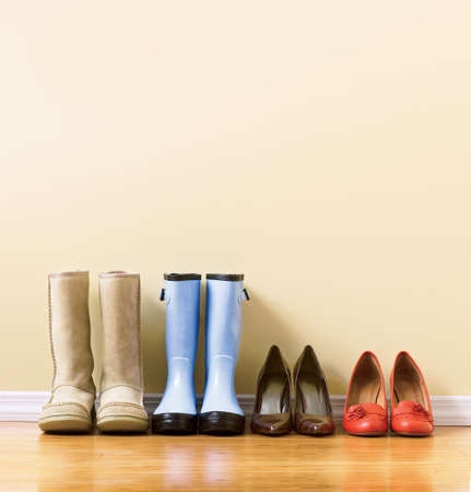 different womens footware