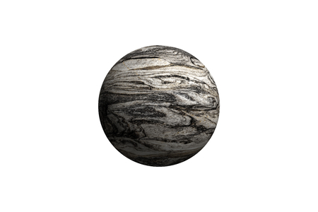 earthlike: Illustration of a alien planet isolated on a white background.